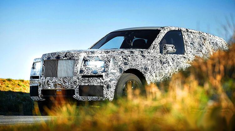 Перспективный внедорожник Rolls-Royce