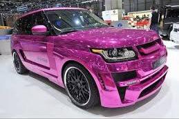 Розовый оттенок хрома