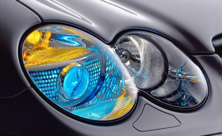 Приборы наружного освещения автомобиля