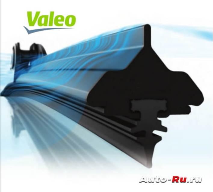 Бескаркасная щетка Valeo