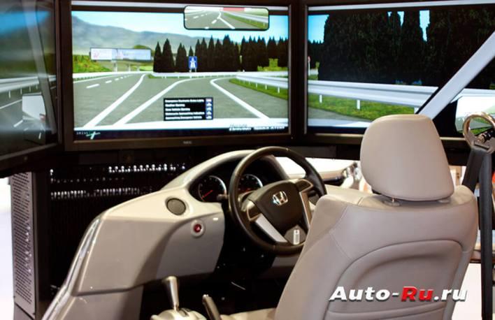 Теория вождения автомобиля для начинающих. Симулятор вождения