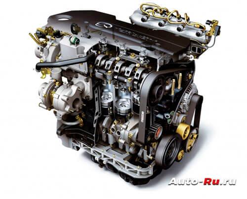 Двигатель Mazda 2.0-MZR CD