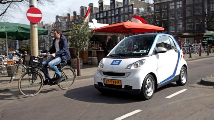 Gebruik elektrische car2go in jaar verdubbeld in Europa