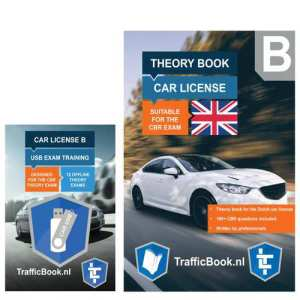 Car Theory Book with Practise Exams USB - Auto Theorieboek Engels 2019 met Engelse Auto Theorie USB