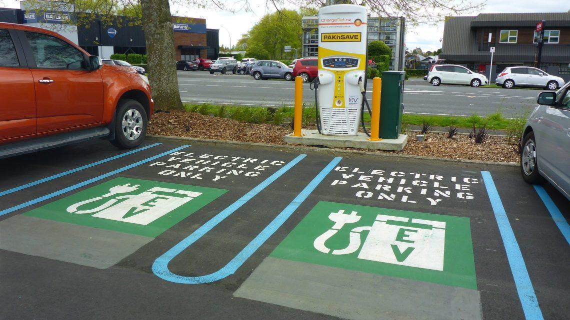 Elektrische auto's in het straatbeeld van Nederland
