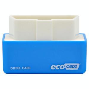 Super Mini EcoOBDII Plug en station Chip Tuning Box voor dieselauto's lagere brandstof en lagere Emission(Blue)