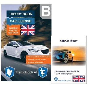 AutoTheorieboek - Engels - Rijbewijs B 2021 + Engelse Auto Theorie Boek Samenvatting - Auto Theorie Rijbewijs B 2021 Engels