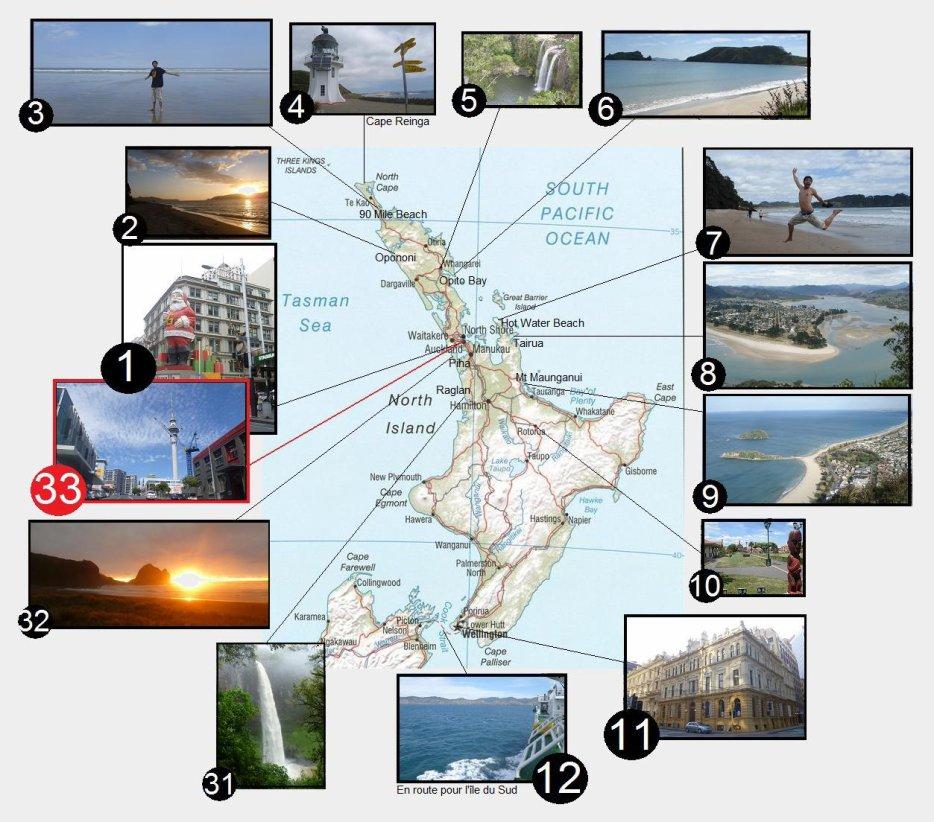 nouvelle zélande ile du nord