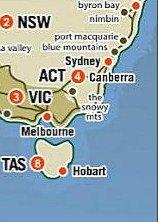 tasmanie sydney