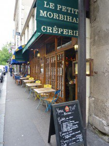 Paris- Crêperie Le petit Morbihan