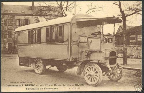 Camping-car de la Carrosserie