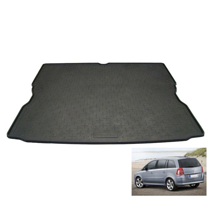 tapis coffre auto sur mesure caoutchouc avec rebord