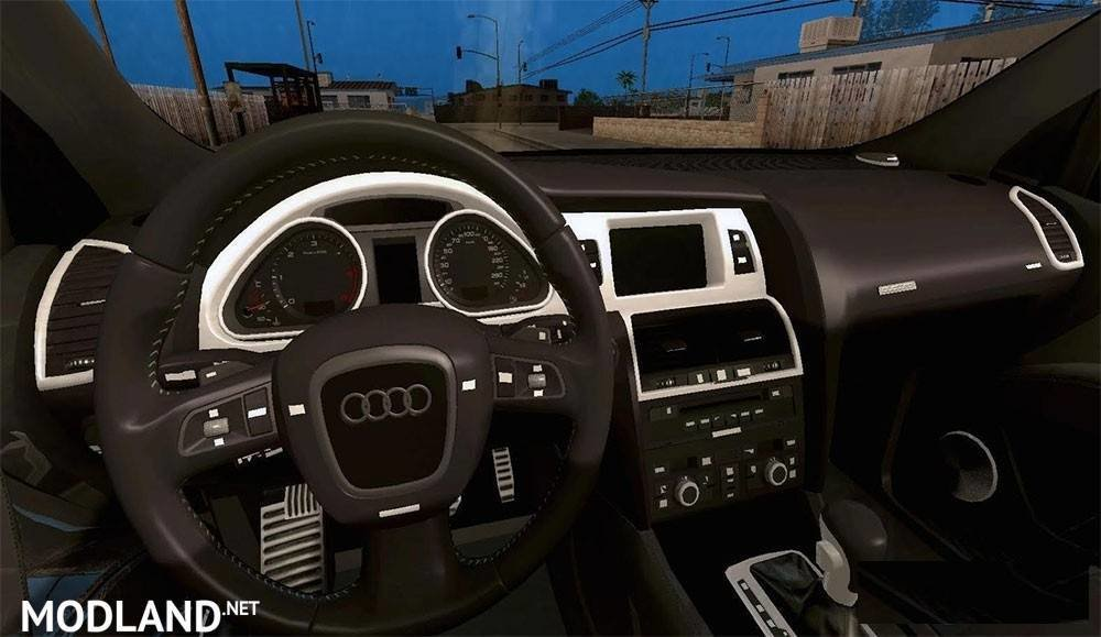 Latest Audi Q7 2007 Edit By Brktn24 Mod For Ets 2 Free Download