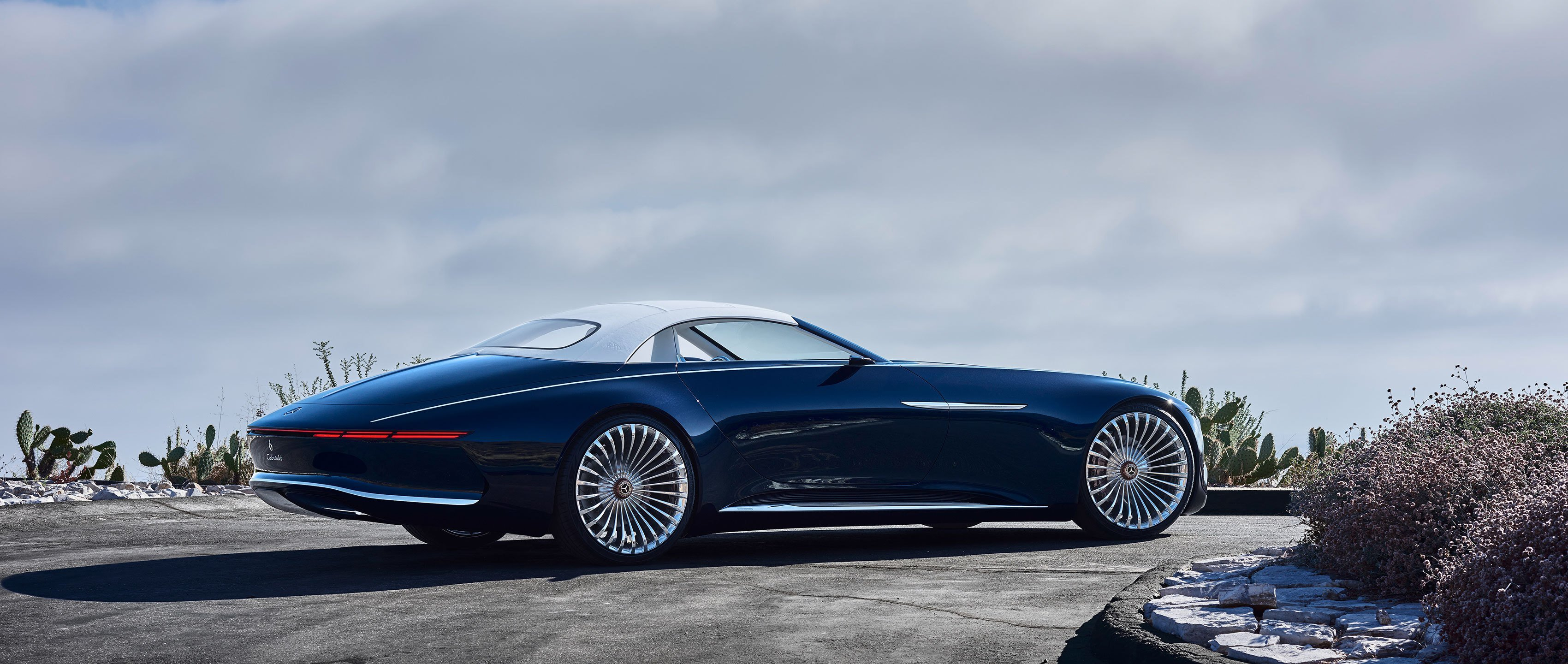 Latest Vision Mercedes Maybach 6 Cabriolet Luxury Of The Future Free Download