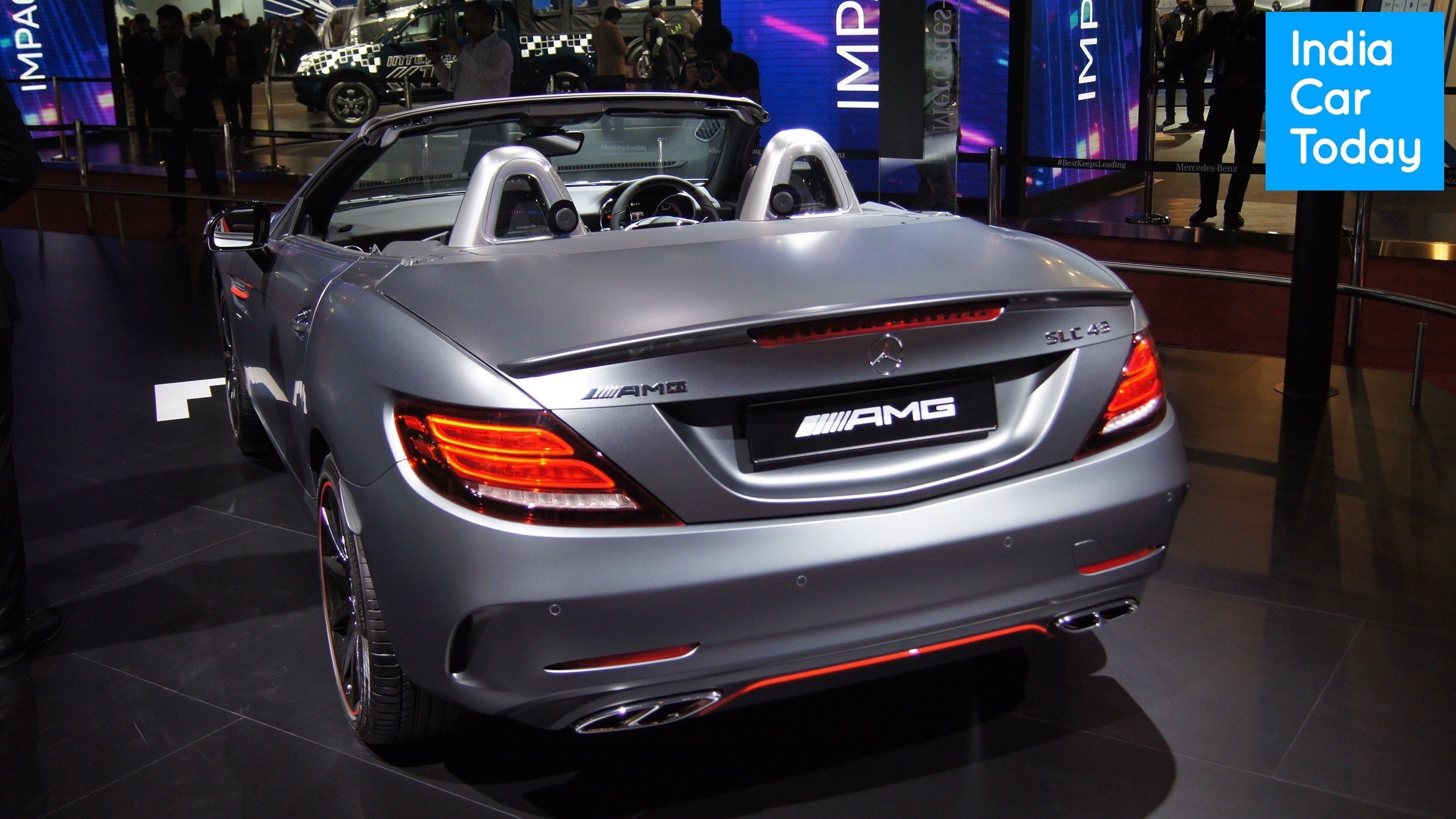 Latest Mercedes Benz Amg Performance Center Auto Expo 2018 Image Free Download