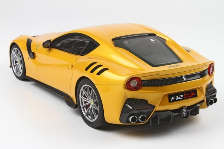 Latest Ferrari F12 Tdf Model Car In 1 18 Scale By Bbr Resin Model Free Download