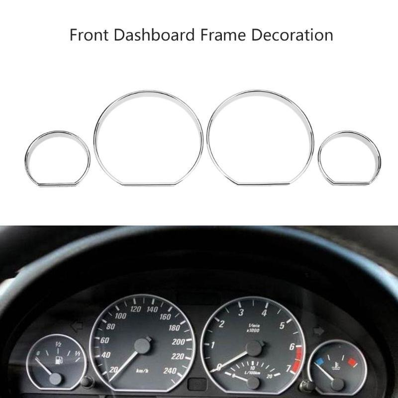 Latest 4Pcs Set Dashboard Decoration Frame Auto Car Front Styling Free Download