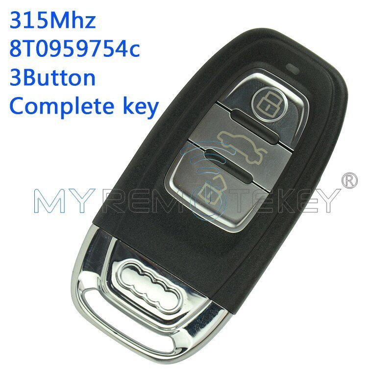 Latest A4 A6 Q5 Sq5 Smart Key 3 Button With Key Insert 315Mhz Free Download