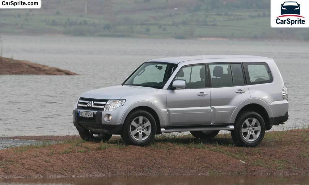 Latest Mitsubishi Pajero 2017 Prices And Specifications In Free Download