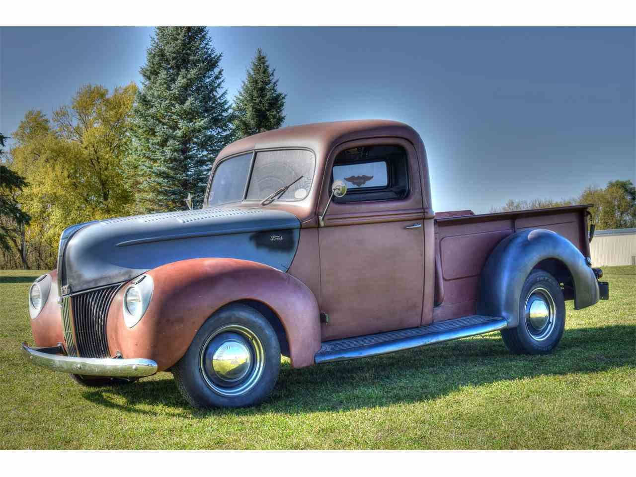 Latest 1940 Ford Pickup For Sale Classiccars Com Cc 1032652 Free Download Original 1024 x 768