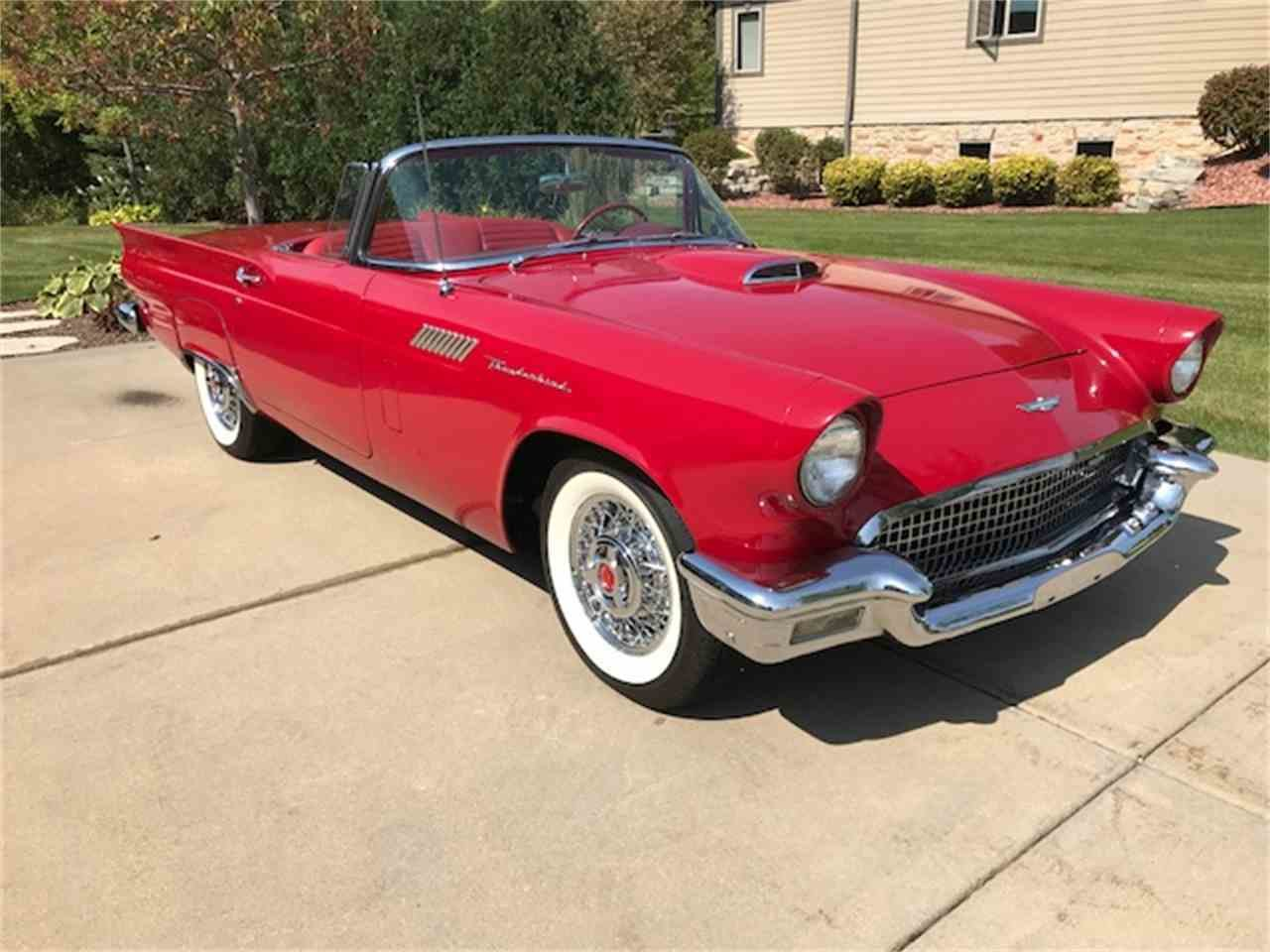 Latest 1957 Ford Thunderbird For Sale Classiccars Com Cc 1036174 Free Download Original 1024 x 768