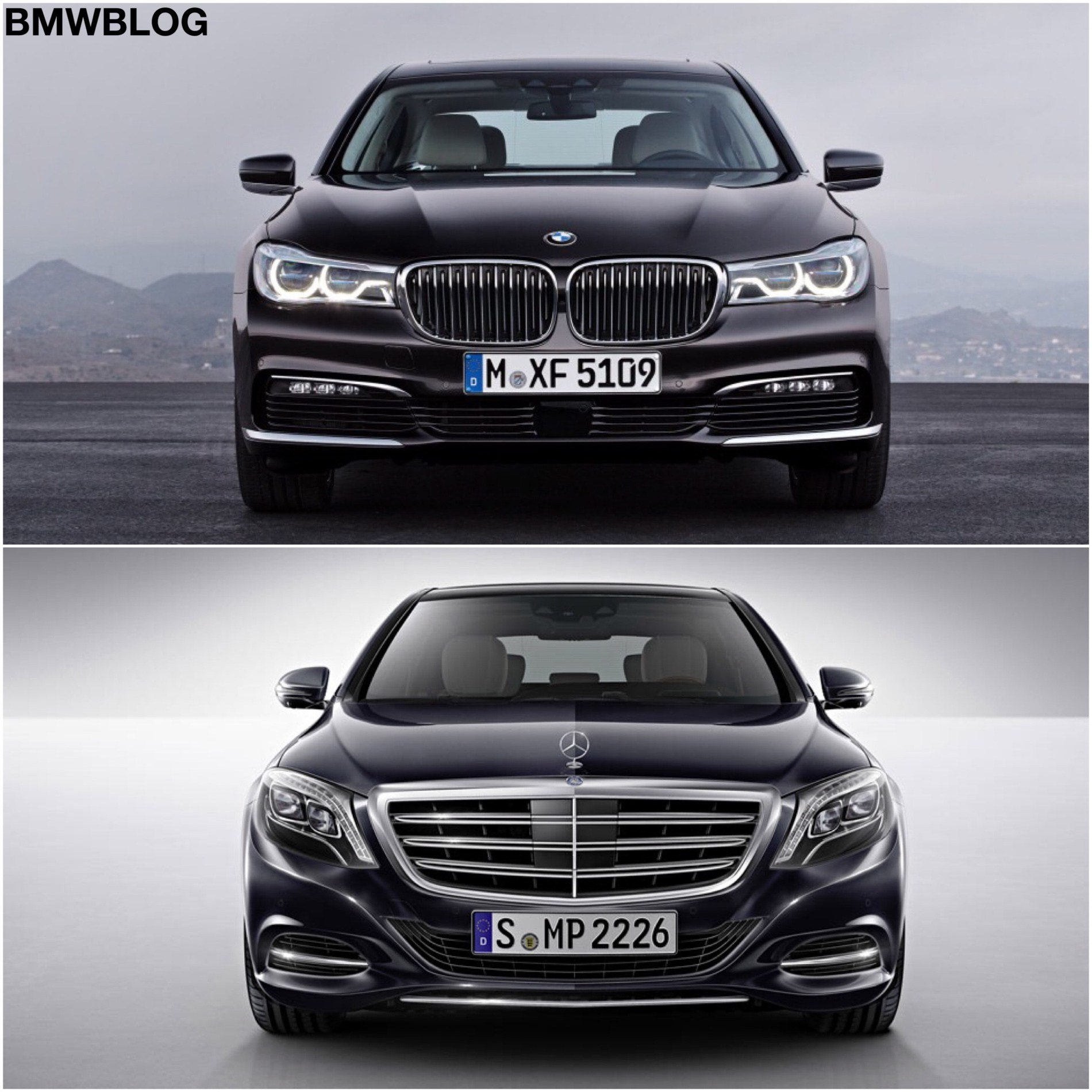 Latest 2016 Bmw 7 Series Vs 2015 Mercedes Benz S Class Free Download