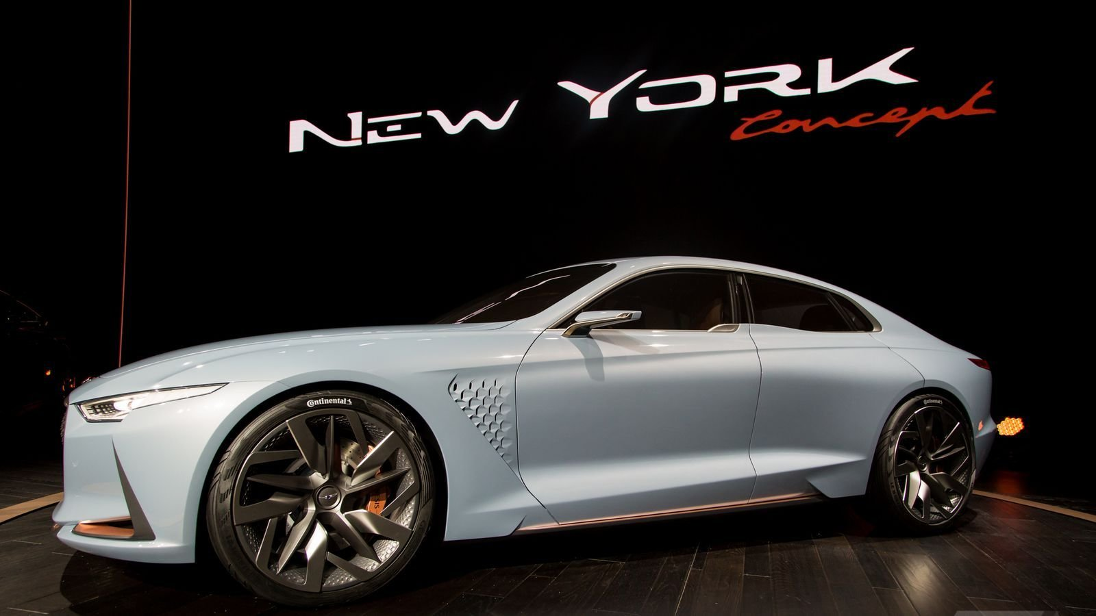 Latest Genesis New York Concept Is A Sports Sedan That Ll Make Free Download