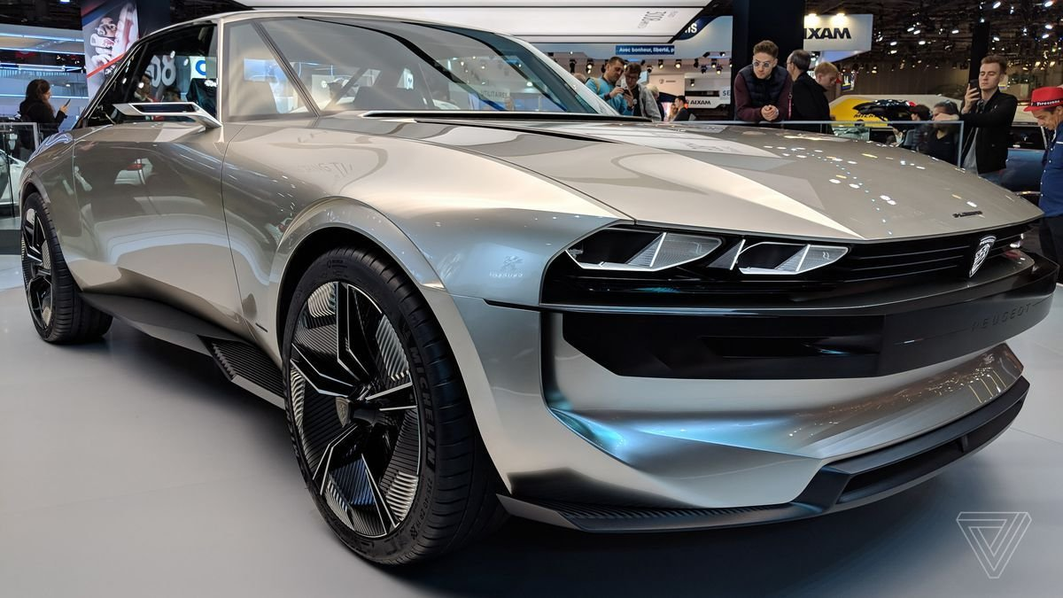 Latest Peugeot's E Legend Concept Is A Muscle Car For The Free Download