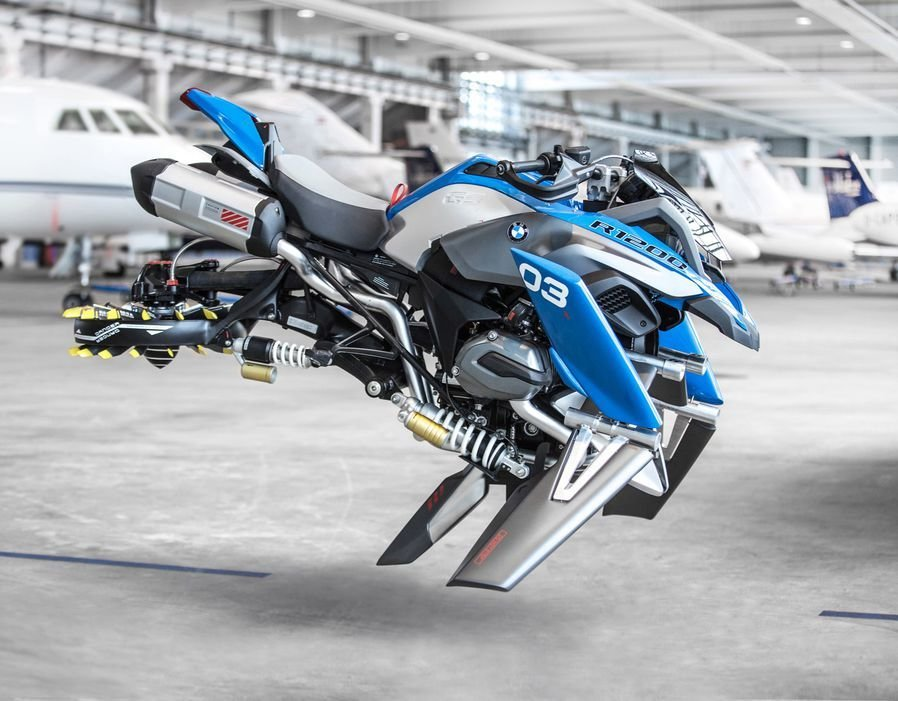 Latest Bmw Builds Flying Motorcycle Based On A Lego Modelling Kit Free Download