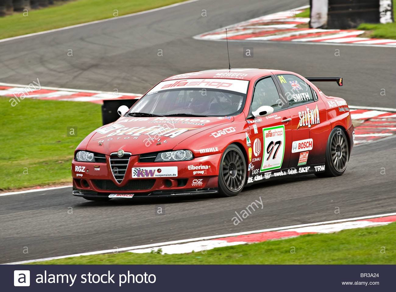 Latest Alfashop Alfa Romeo 156 Saloon Racing Car Exiting Brittens Free Download