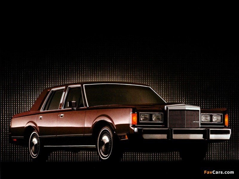 Latest Lincoln Town Car 1985–89 Wallpapers 800X600 Free Download