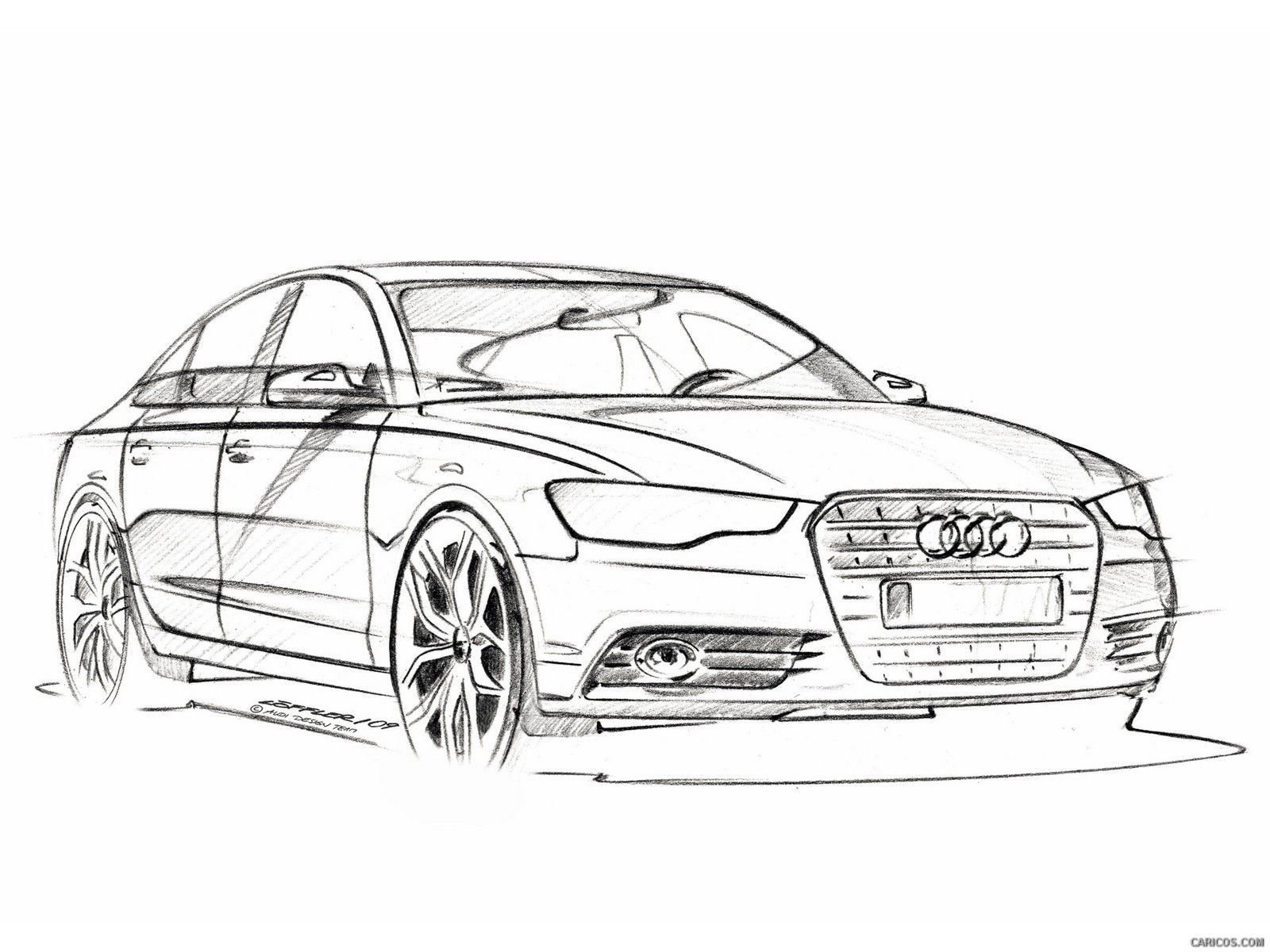 Latest صورة ذات صلة Car Sketch Auto Skizze Zeichnungen Audi Free Download