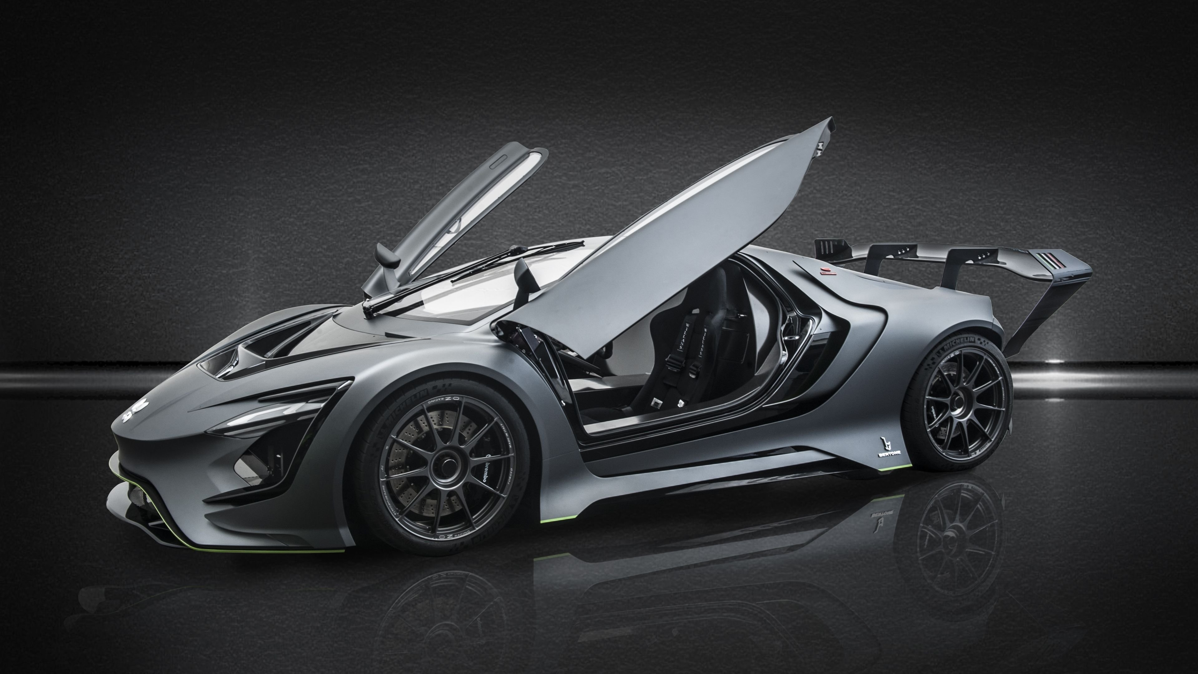 Latest Dianche Bertone Bss Gt One 2018 Side View 4K Hd Wallpapers Free Download