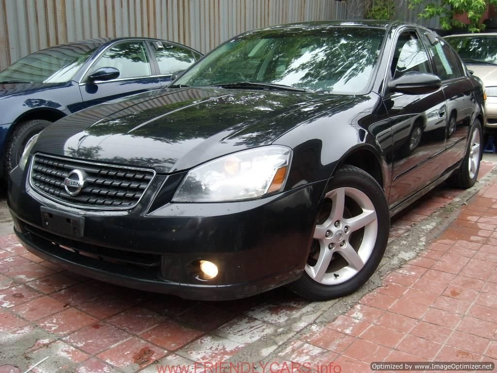 Latest Nice Nissan Altima 2005 With Rims Car Images Hd Nissan Free Download