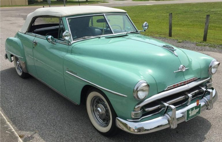 Latest 1952 Plymouth Cranbrook Convertible Plymouth Plymouth Free Download Original 1024 x 768