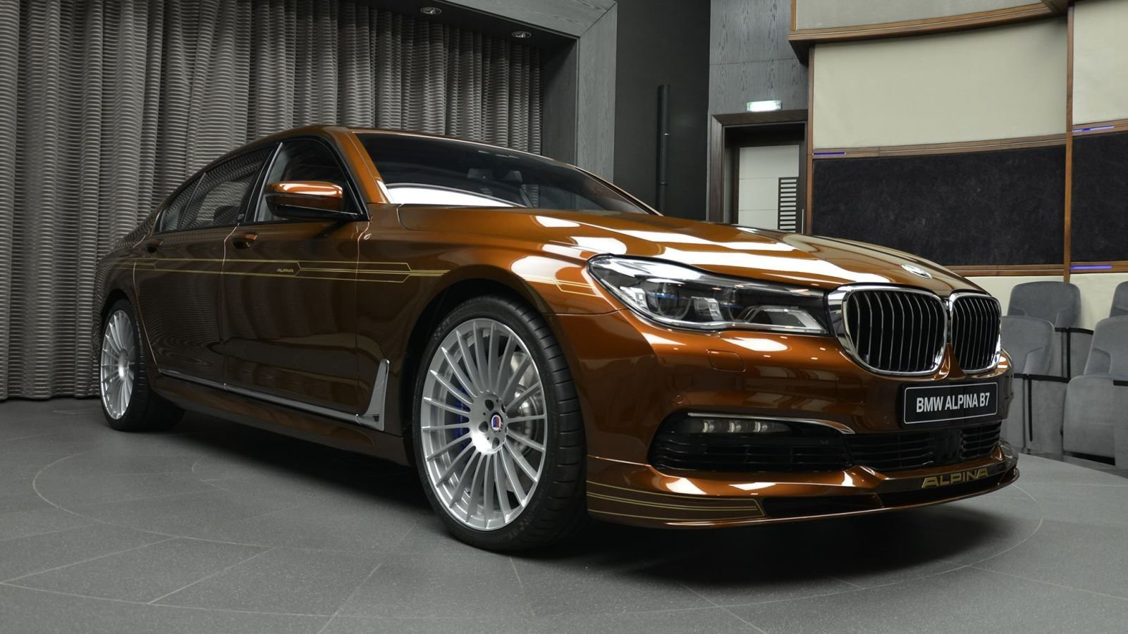 Latest Custom New Bmw Alpina B7 Is Offensively Brown And Free Download