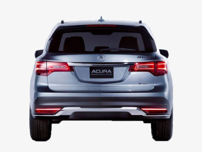 Latest Acura Back View Acura Auto Suv Vista Trasera Archivo Png Y Free Download