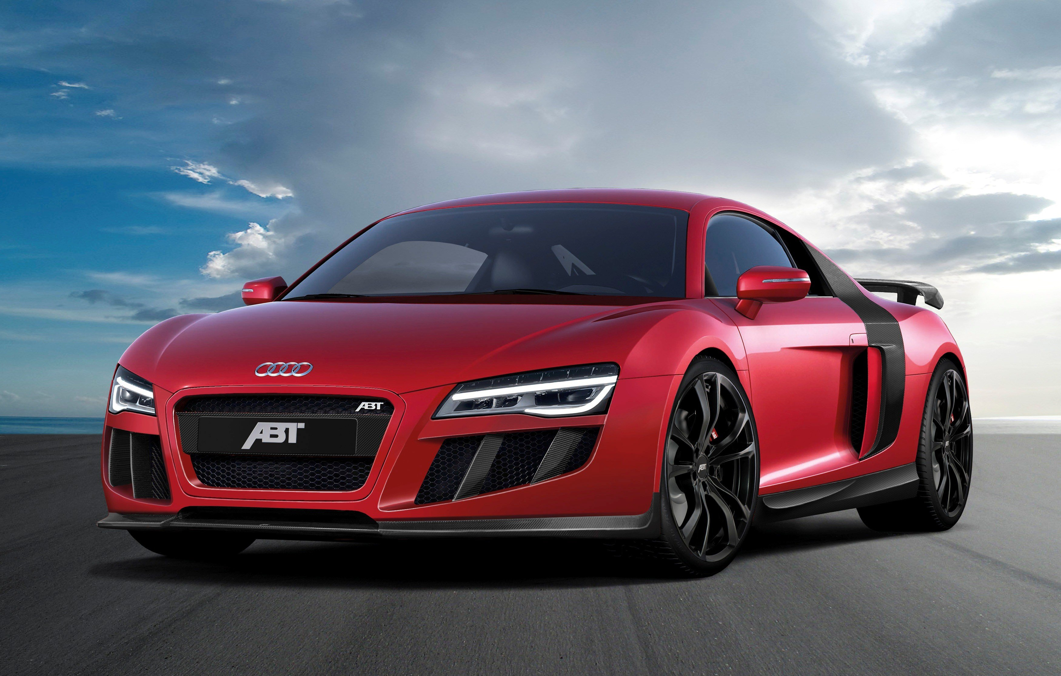 Latest 2013 Audi R8 V10 By Abt Sportsline Review Top Speed Free Download