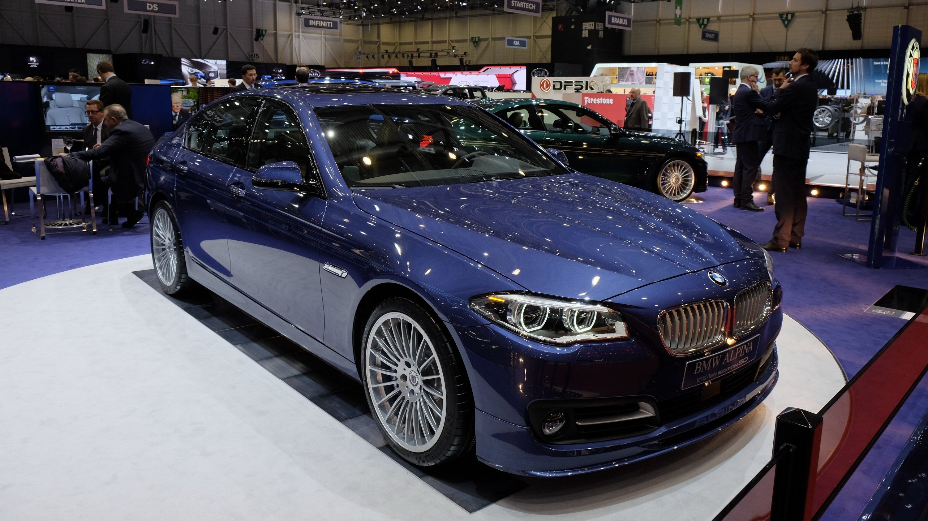Latest 2015 Alpina B5 Bi Turbo Edition 50 Review Top Speed Free Download