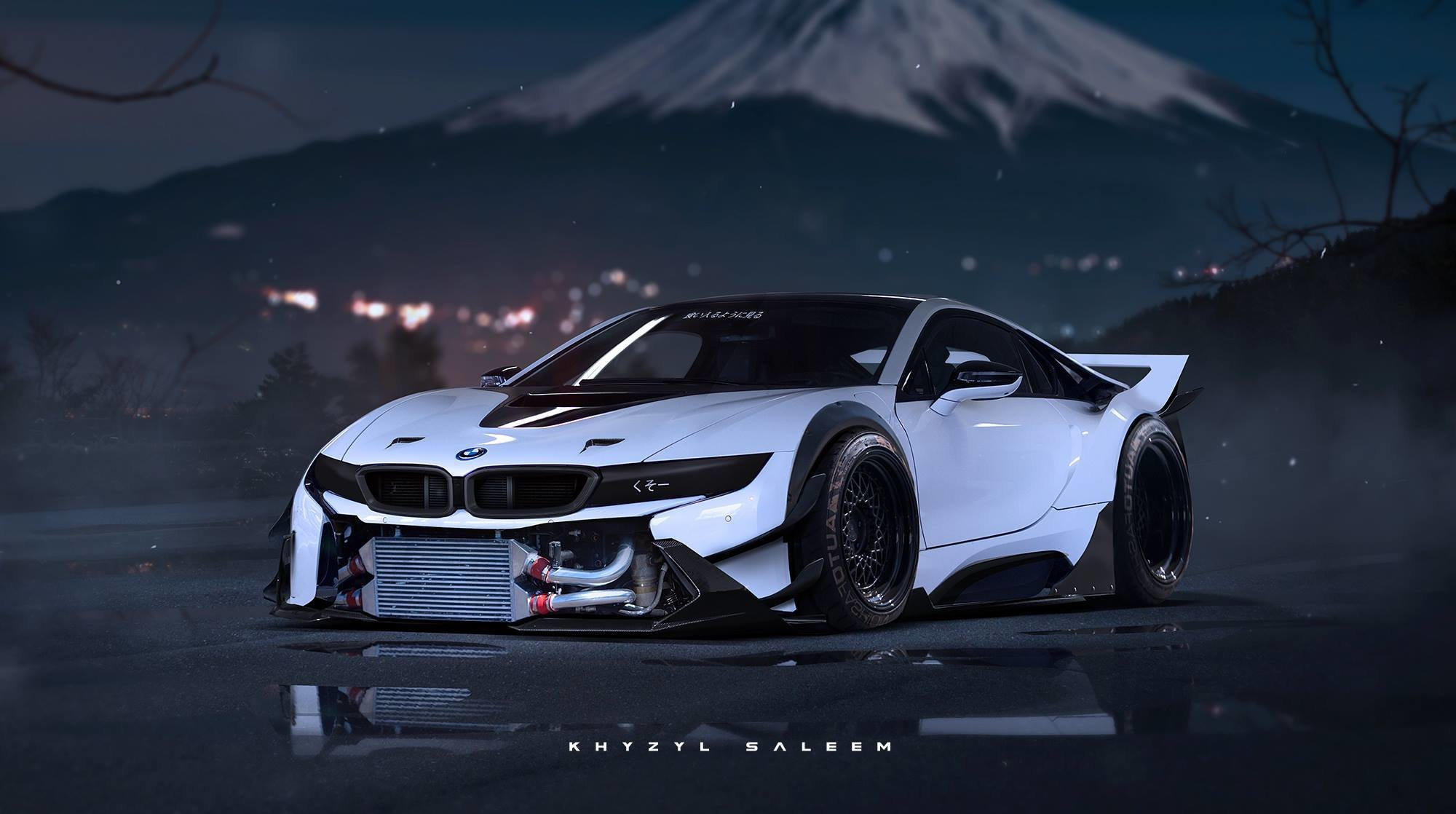 Latest Bmw I8 Rendered As Proper Race Car Autoevolution Free Download