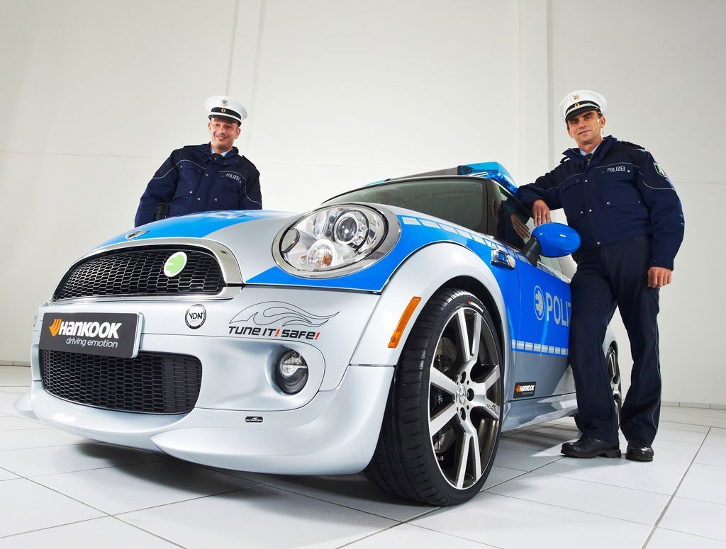 Latest Ac Schnitzer Mini E Police Car Autoevolution Free Download