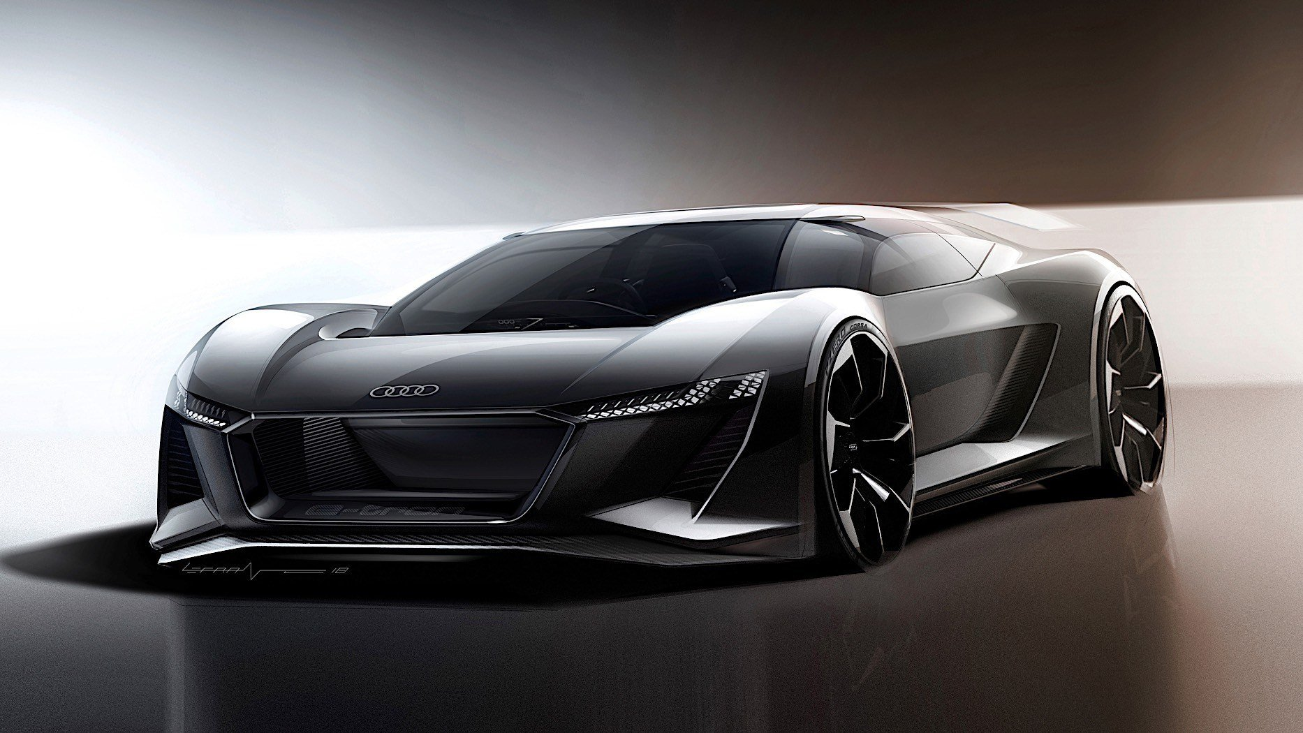 Latest Audi Pb18 E Tron Concept Car Is A Californian Nod To Le Free Download