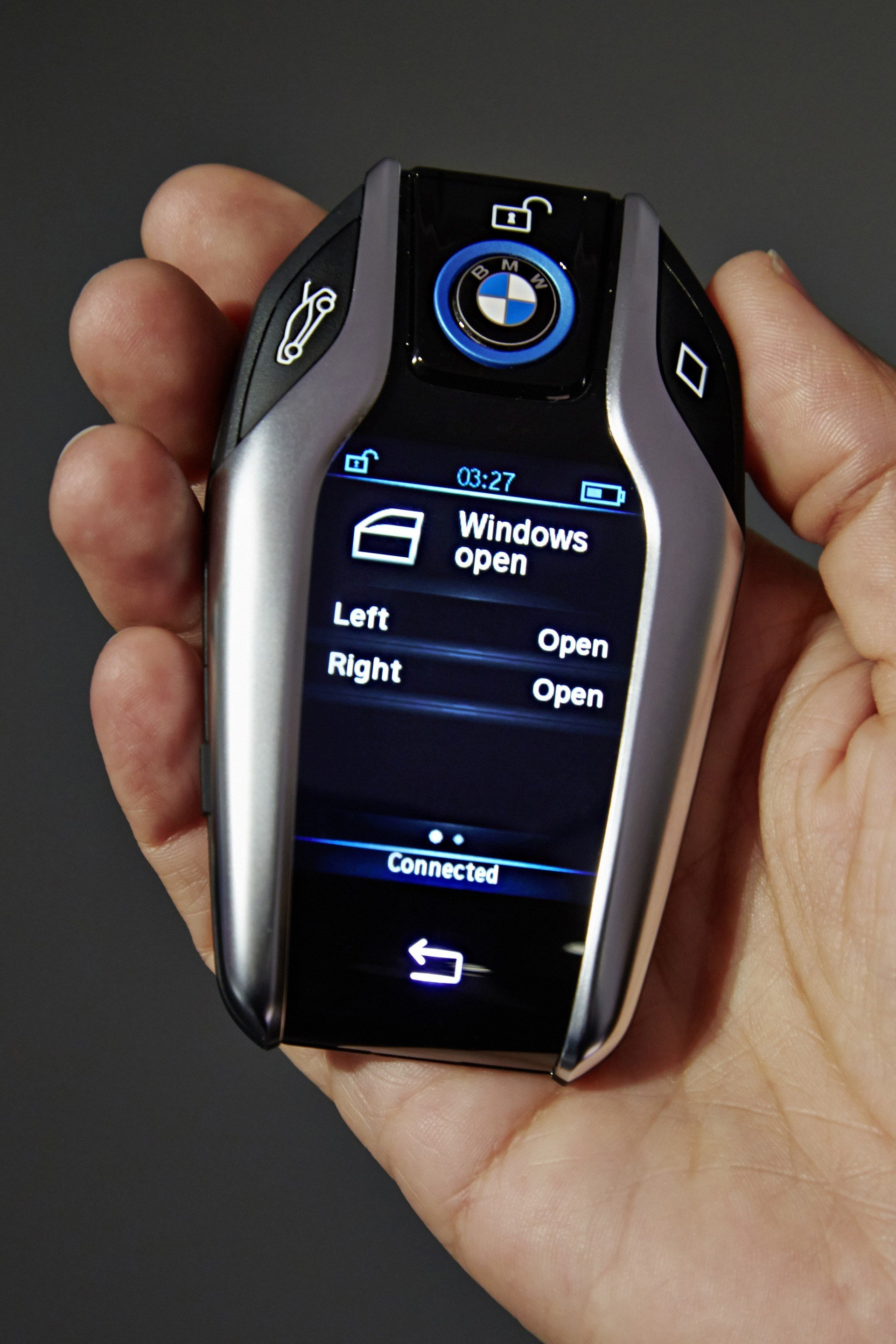 Latest I8 Key Fob With 2 2 Display Brought Out By Bmw At 2015 Free Download