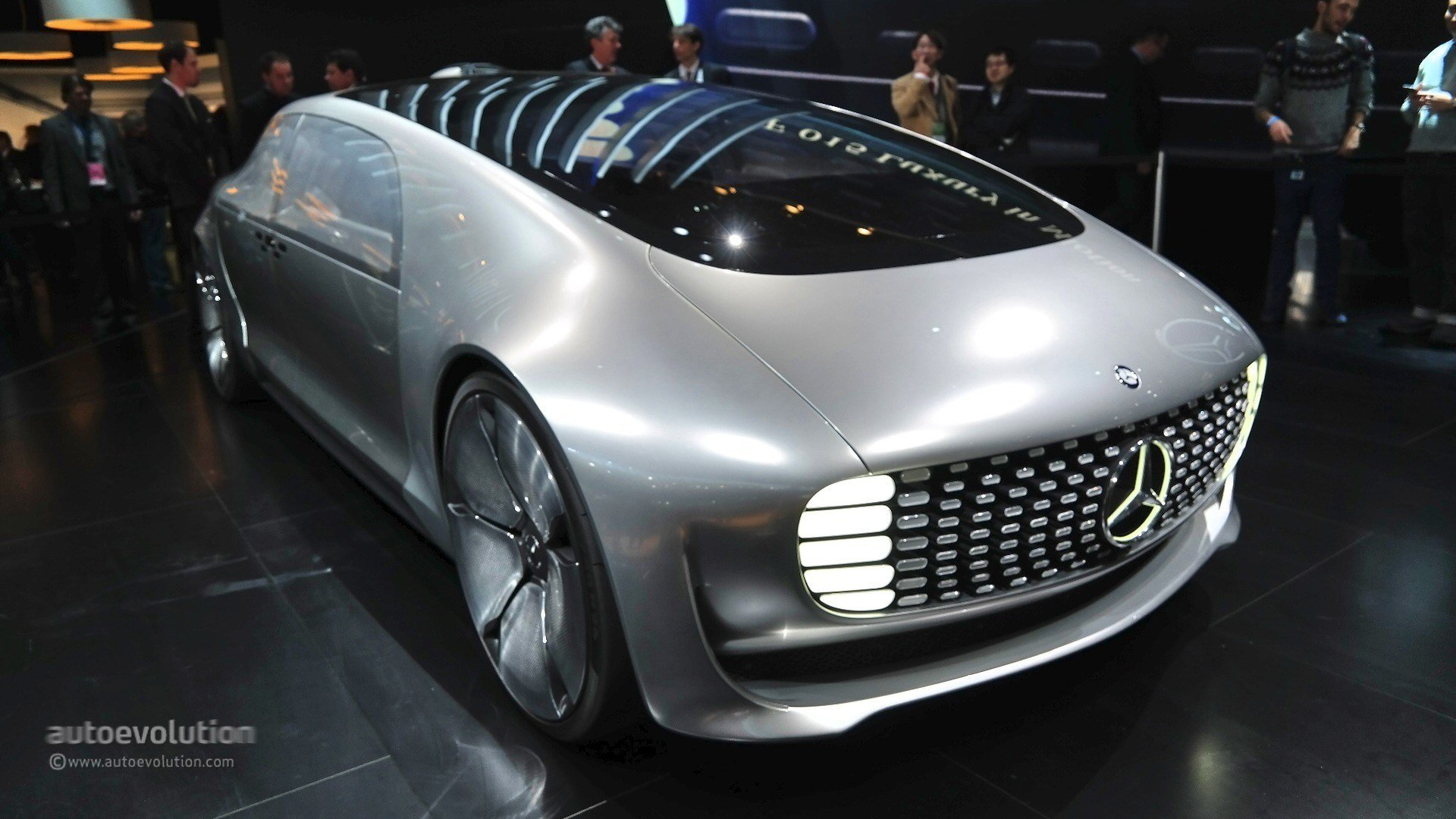 Latest Mercedes Benz F 015 Concept Previews The Future At 2015 Free Download