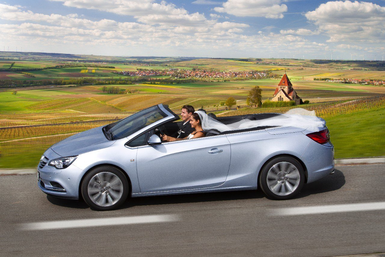 Latest Opel Says The Cascada Convertible Is A Great Wedding Car Free Download