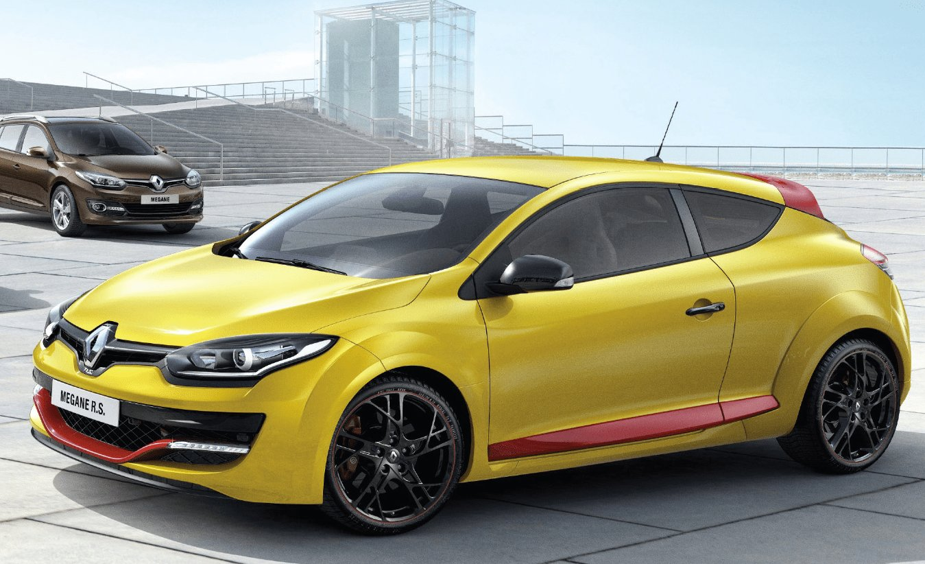 Latest Renault Reveals 2014 Megane Facelift Lineup Hatch Coupe Free Download