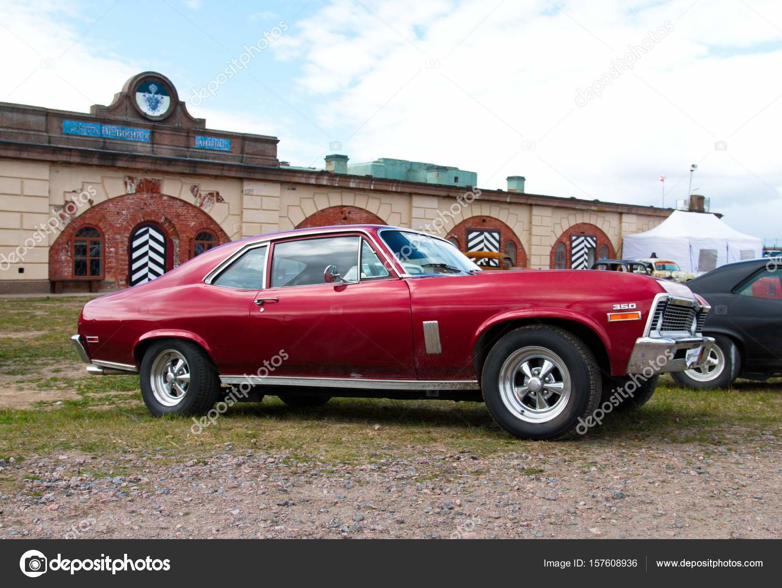 Latest Vintage American Muscle Car – Stock Editorial Photo Free Download