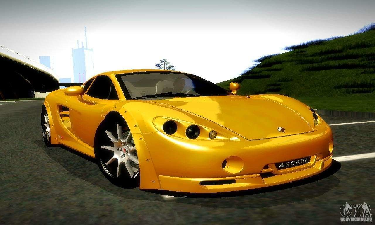 Latest Ascari Kz1R Limited Edition For Gta San Andreas Free Download