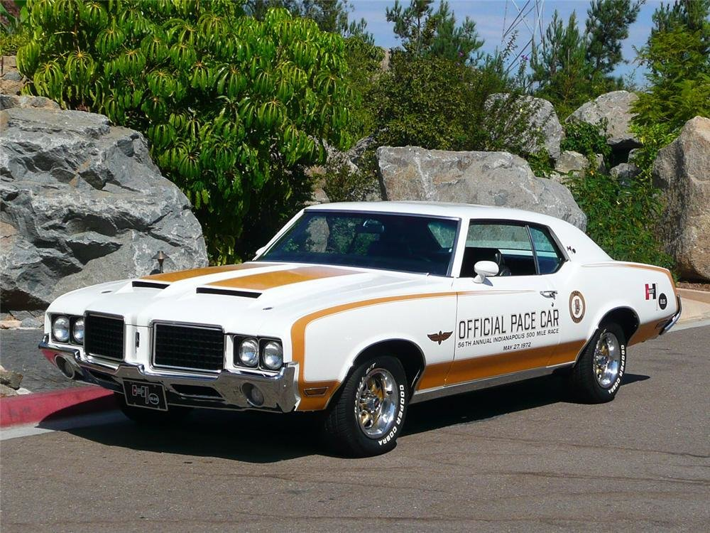 Latest 1972 Oldsmobile Hurst Pace Car Edition Coupe Free Download