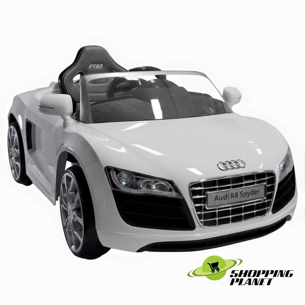 Latest Audi R8 Spyder 12V Chargeable Battery Car For Kids Free Download